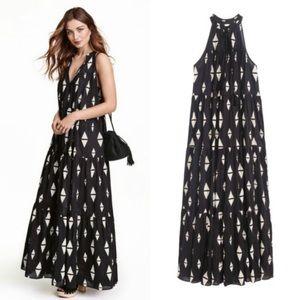 H&am Patterned Maxi Dress Boho